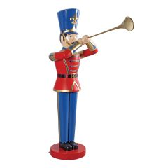 Large Trumpeting Toy Soldier (6' Tall)