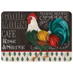 Good Morning Rooster Premium Comfort Mat