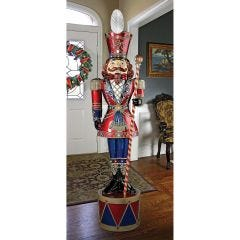 Bavarian Nutcracker LED Illuminated Statue