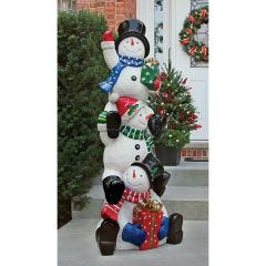 Sno' Bros Stacked LED Illuminated Statue