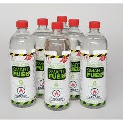 Clean-burning Smart Bio-ethanol Liquid Fuel  (6-pack)