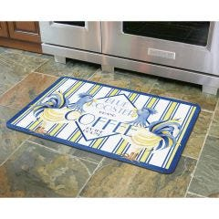 Blue Rooster Coffee Premium Comfort Mat