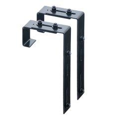 Adjustable Deck Rail Brackets (Set of 2)