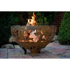 Wildlife Forest Fire Pit Bowl