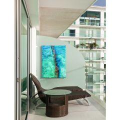 Weatherproof Canvas Art - Cool Waters