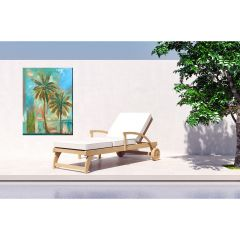 Weatherproof Canvas Art - Modern Palms