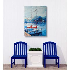 Weatherproof Canvas Art - Yacht Club