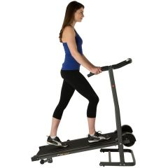 Electric-Free Manual Folding Treadmill