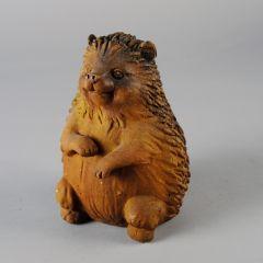 Hedgehog Fiber Stone Statue
