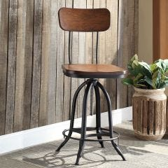 Schoolhouse Adjustable Stool