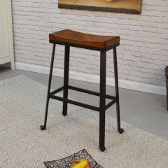 "Charleston Saddle Stool (30"")"