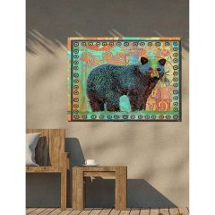 Weatherproof Canvas Art - Black Bear