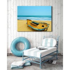 Weatherproof Canvas Art - Deserted