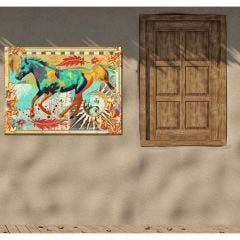 Weatherproof Canvas Art - Galloping Horse