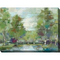 Weatherproof Canvas Art - Green Earth