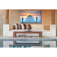 Weatherproof Canvas Art - Infinity Sunset