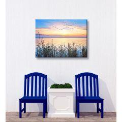 Weatherproof Canvas Art - Lake Sunset