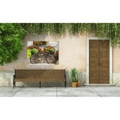 Weatherproof Canvas Art - Rusty Bicyclette