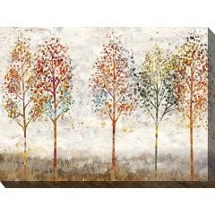 Weatherproof Canvas Art - Young Forest