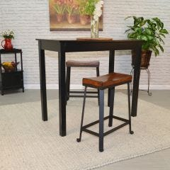 "Charleston Saddle Stool (24"")"