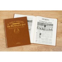 Washington Post Golf History Newspaper Book