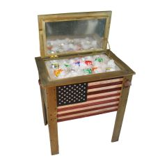 Wooden Flag Cooler