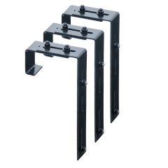 Adjustable Deck Rail Brackets (Set of 3)