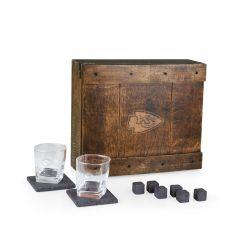 NFL Acacia Whiskey Tabletop Bar