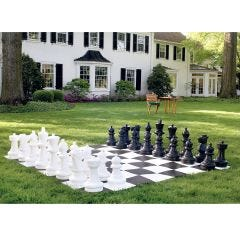 Giant Chess Set and Board