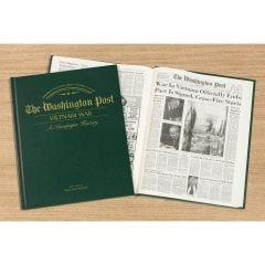 Personalized Newspaper Headline Book – Vietnam War