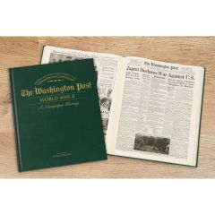 Personalized Newspaper Headline Book – World War II