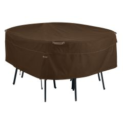 Large Round Table and Chairs Cover