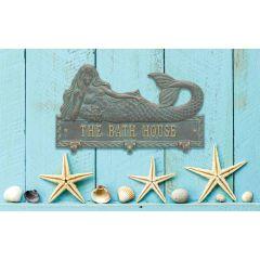 Personalized Mermaid Hook Plaque