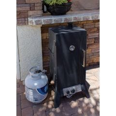 Outdoor Propane BBQ Smoker