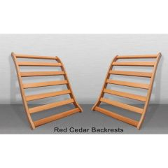 Lumbar Backrest in Cedar