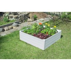 "Raised Garden Box Deluxe (48"" square x 15"" high)"