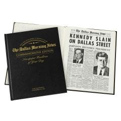 Personalized Commemorative Newspaper Books