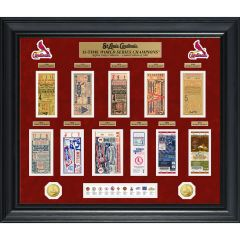 St. Louis Cardinals Deluxe World Series Ticket Frame