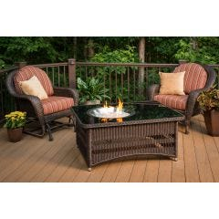 Naples Crystal Fire Pit Table