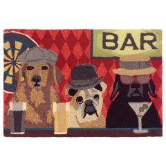 Lifestyle Indoor / Outdoor Porch Rug – Bar Patrol