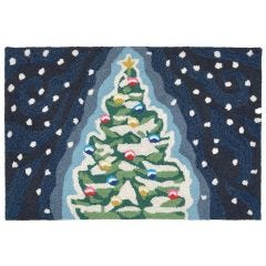 Lifestyle Indoor/Outdoor Porch Rug – Christmas Tree