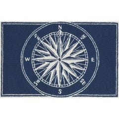 Lifestyle Indoor / Outdoor Porch Rug – Compass