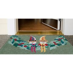 Lifestyle Indoor/Outdoor Porch Rug – Festive Elves