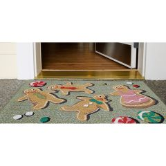 Lifestyle Indoor/Outdoor Porch Rug – Glazed and Amused