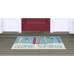 Lifestyle Indoor/Outdoor Porch Rug – Gone Skiing