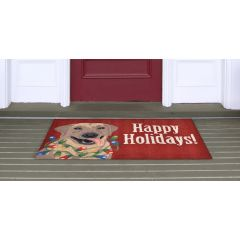 Lifestyle Indoor/Outdoor Porch Rug – Happy Holidays