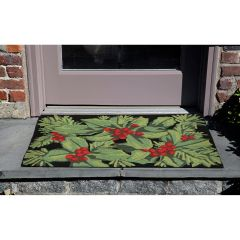 Lifestyle Indoor/Outdoor Porch Rug – Hollyberries