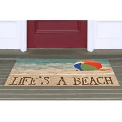 Lifestyle Indoor / Outdoor Porch Rug – Life's A Beach