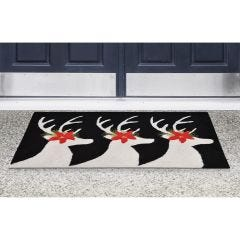 Lifestyle Indoor/Outdoor Porch Rug – Reindeer