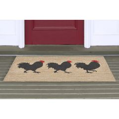 Lifestyle Indoor / Outdoor Porch Rug – Rooster